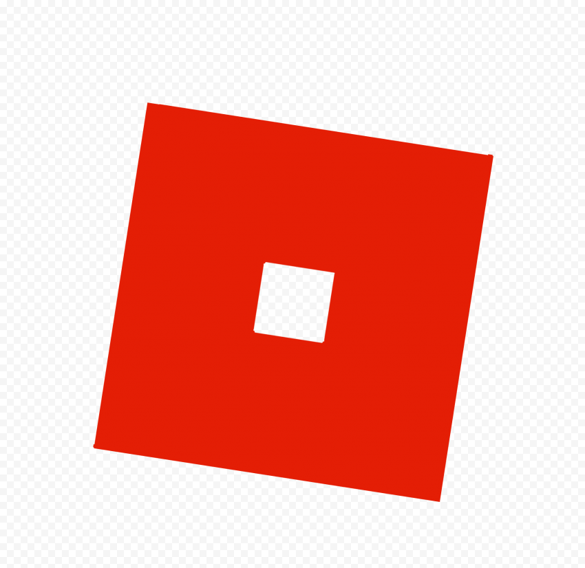 HD Roblox Red Symbol Sign Icon Logo PNG