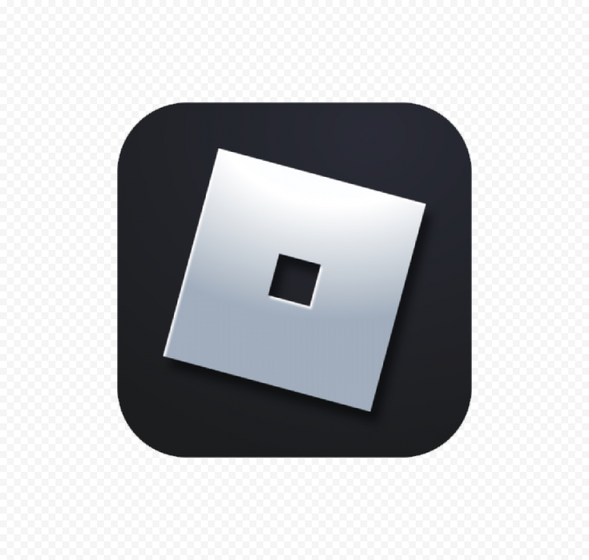 HD Roblox Square Android iOs App Logo Icon PNG