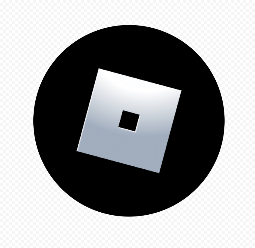 HD New Roblox Round Circle Logo Icon PNG
