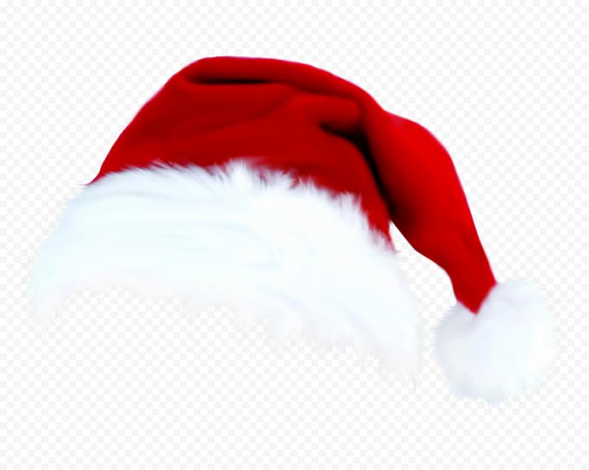 HD Real Santa Claus Christmas Hat PNG