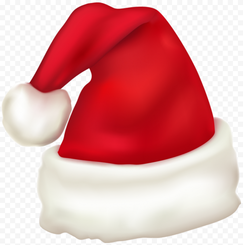 HD Santa Claus Christmas Red & White Hat Illustration PNG