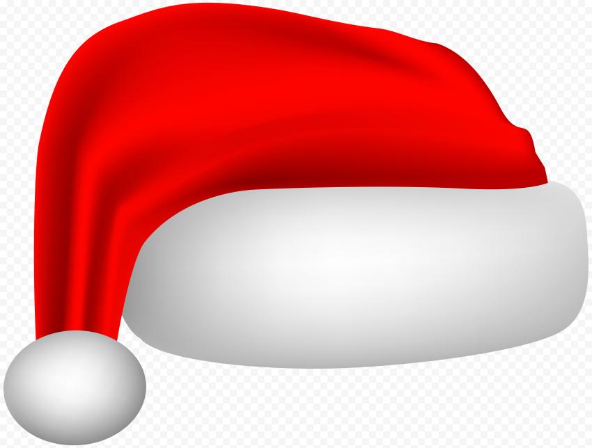 HD Beautiful Santa Claus Christmas Hat Illustration PNG