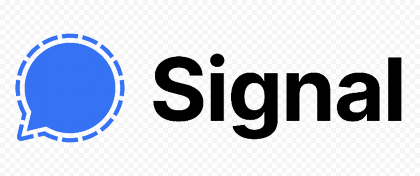 HD Signal Private Messenger Official Logo PNG