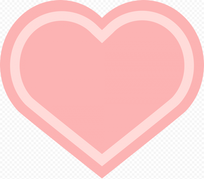 HD Pink Heart Love Valentines Day Transparent PNG