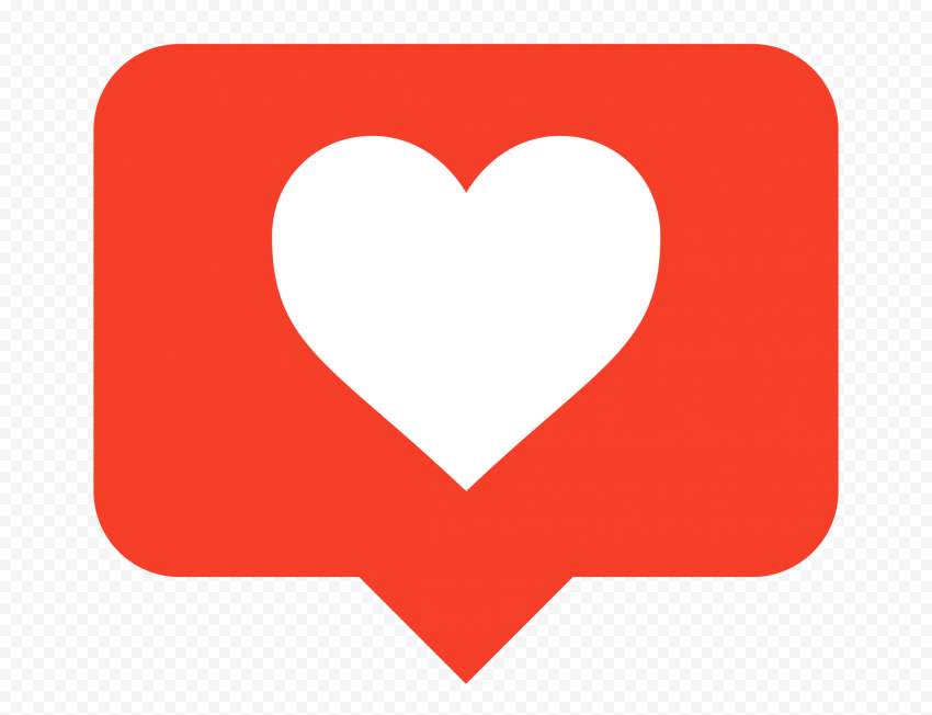HD Old Instagram Like Notification Heart Icon PNG