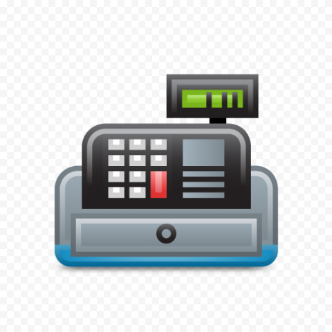 POS System Machine Icon PNG