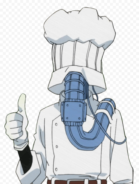HD My Hero Academia Lunch Rush Character PNG