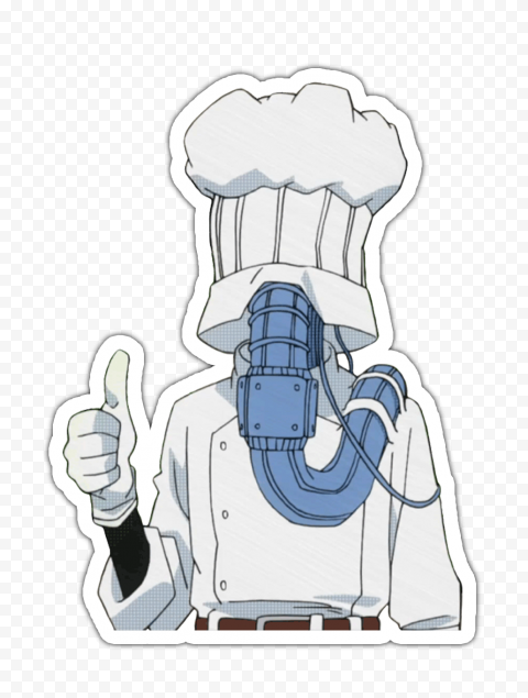 HD My Hero Academia Lunch Rush Stickers Character PNG