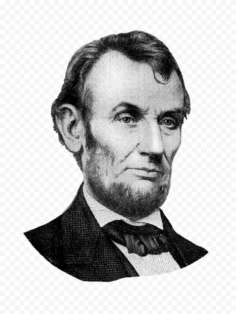 Abraham Lincoln Black & White United States