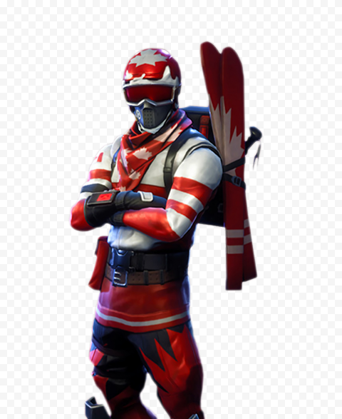 Alpine Ace Fortnite Canada Red Character