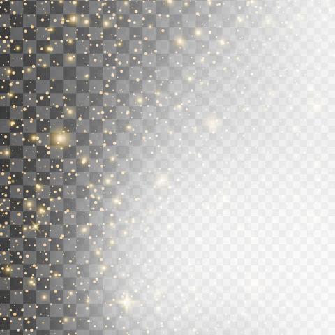 Angle Border Shading Black Gold Pattern Glitter