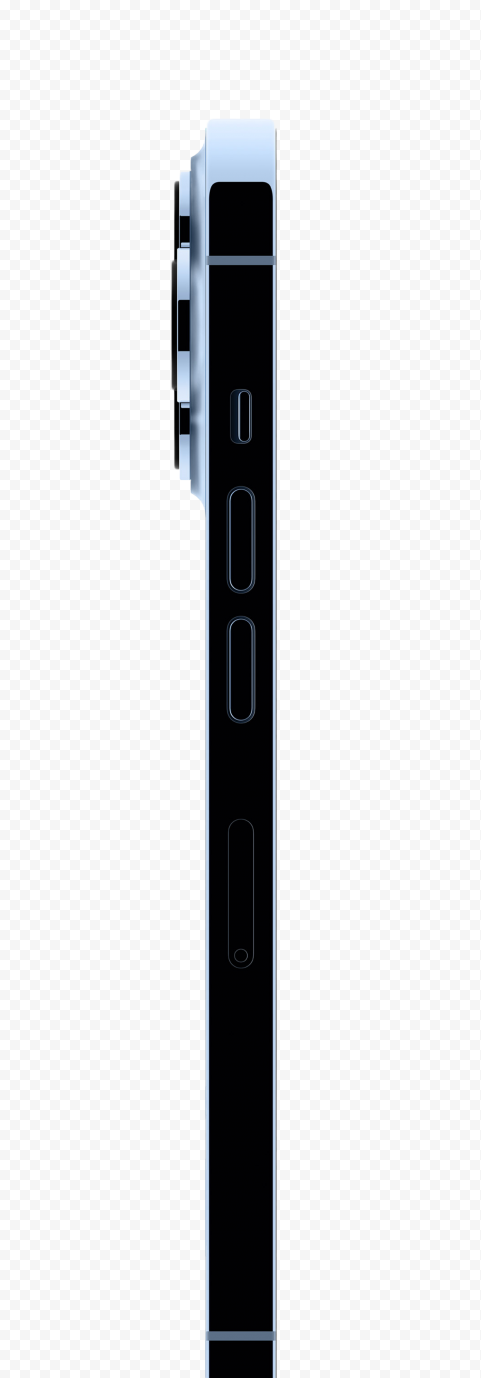 Apple iPhone 13 Pro Side View PNG
