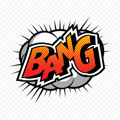 Bang Expression Comic Stickers Pop Art