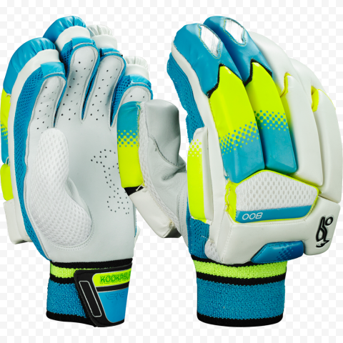 Batting Gloves Baseball Kookaburra Blue Cricket