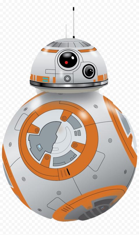 BB-8 Robot illustration