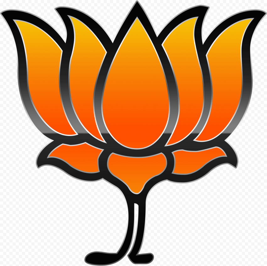 Bharatiya Janata Party (BJP) shiny logo