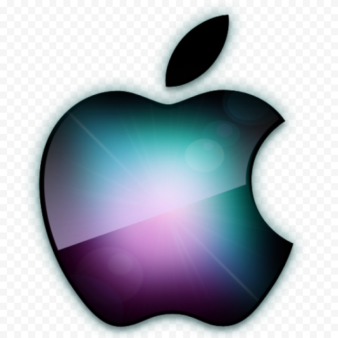 Black Apple Brand Logo