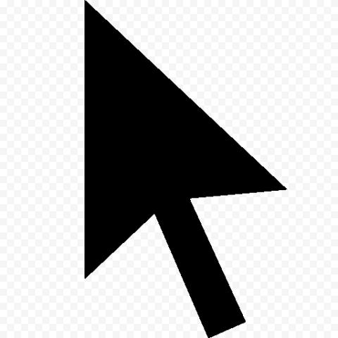 Black Cursor Arrow