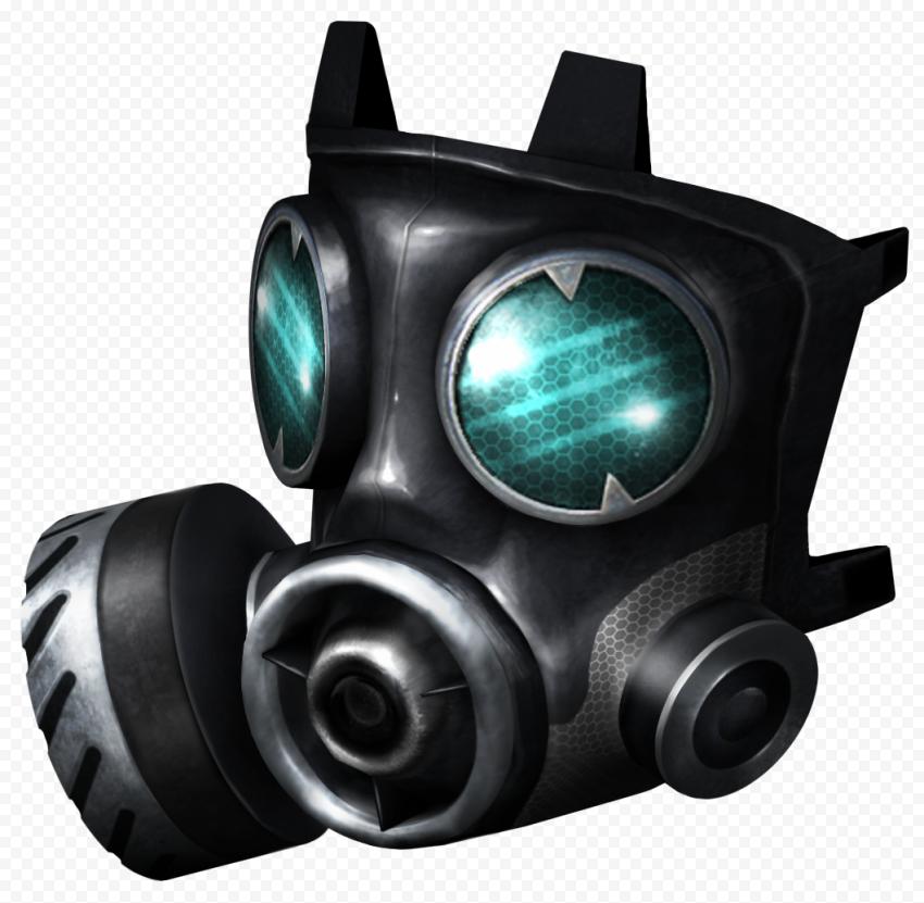 Black Gas Dust Respirator Mask Full Face