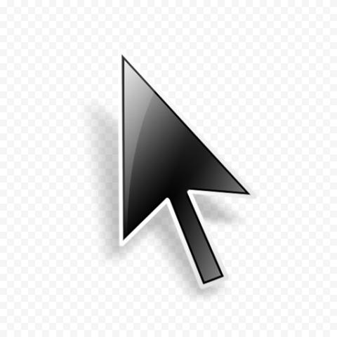 Black Illustration Cursor Arrow