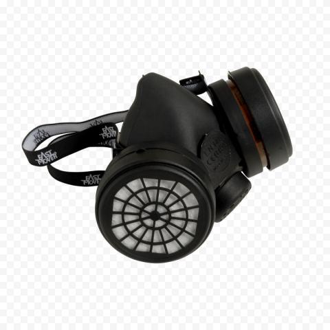Black Mask Gas Respirator Anti Dust