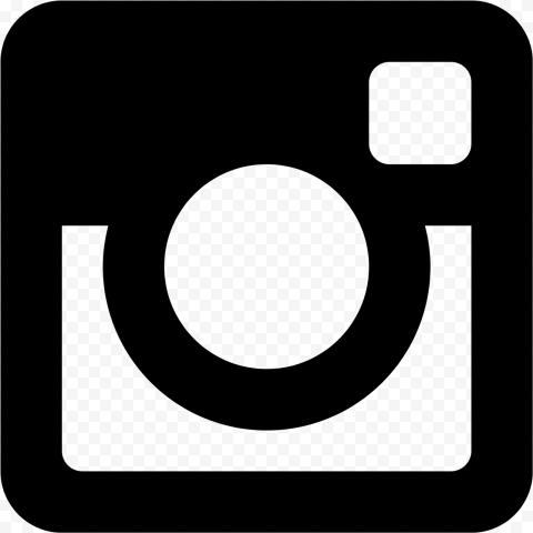 Black Square Instagram Logo