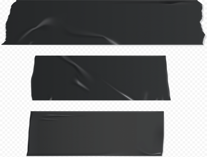 Black Tape Texture Adhesive Duct