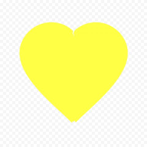 Broken Yellow Heart Emoji
