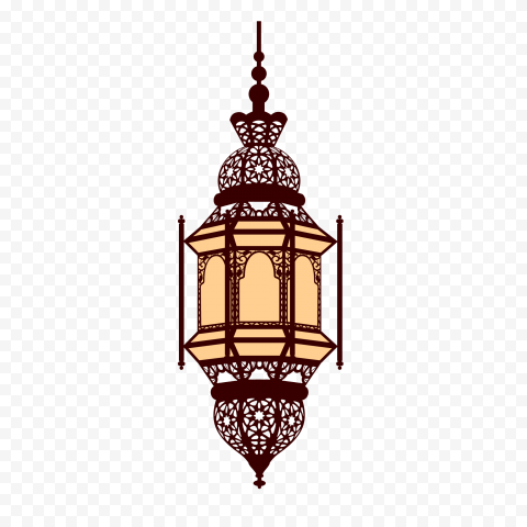 Cartoon Hanging Ramadan Light Lantern Lamp