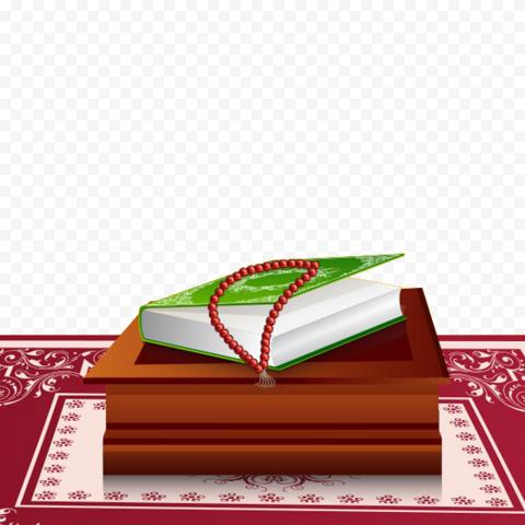 Cartoon Quran Islamic Illustration Ramadan Icon