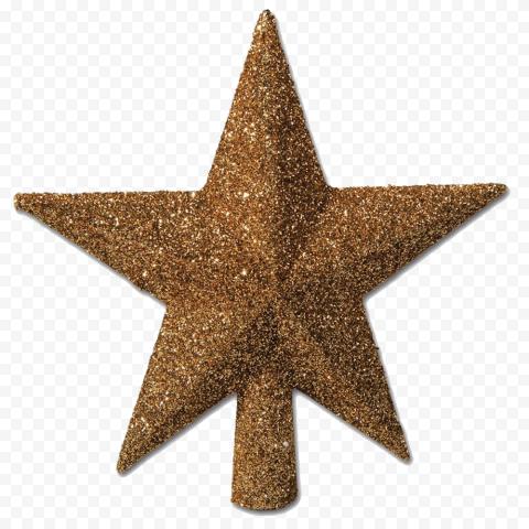 Christmas Gold Star Glitter