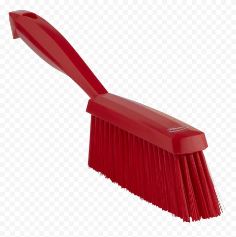 Cleaning Bristle Hand Brush Red HouseKeeping Maid