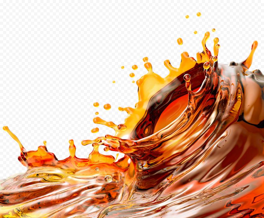 Coke Coca Cola Liquid Splash PNG