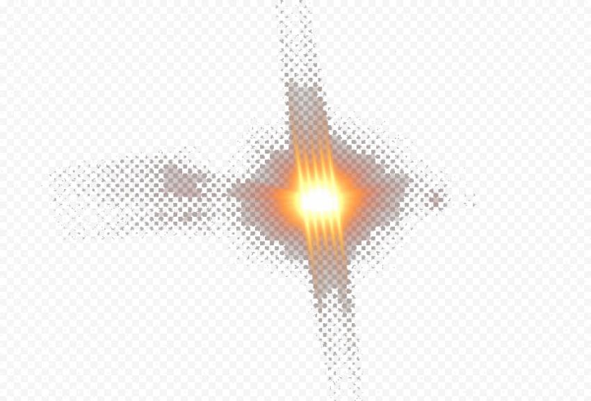 Collision Yellow Flash Light Thumbnail Effect