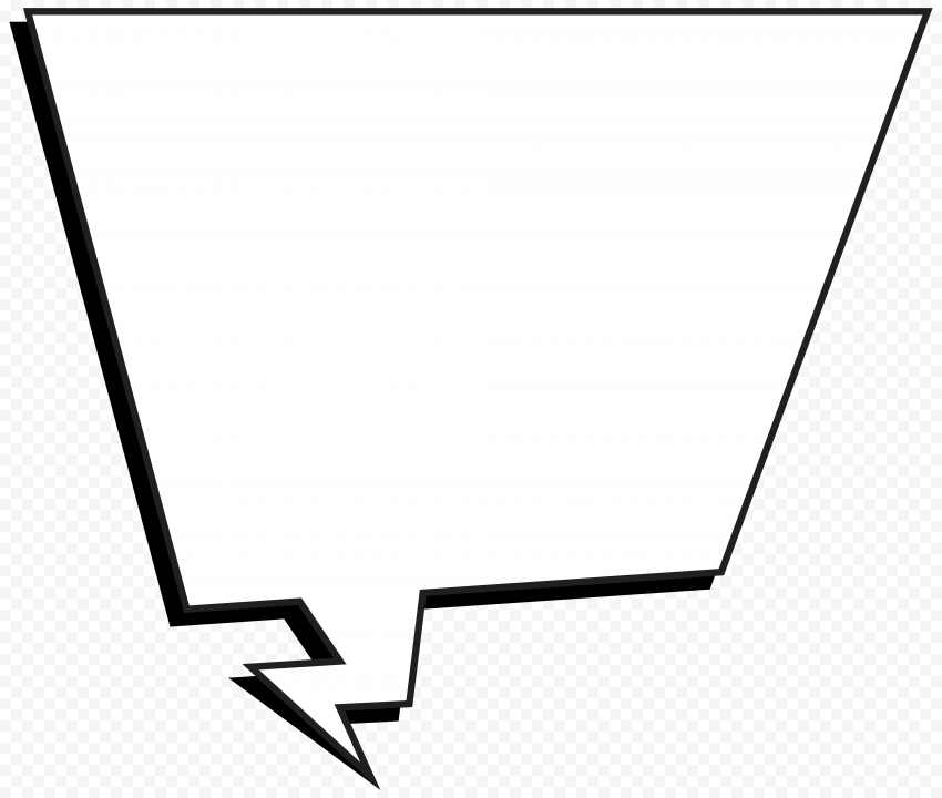 Conversation Bubble Outline Cartoon Comic