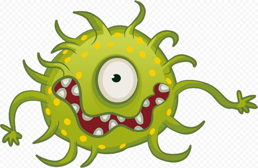 Coronavirus Covid-19  Cartoon