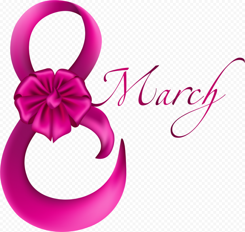 Creative Pink 8 March International Women'S Day