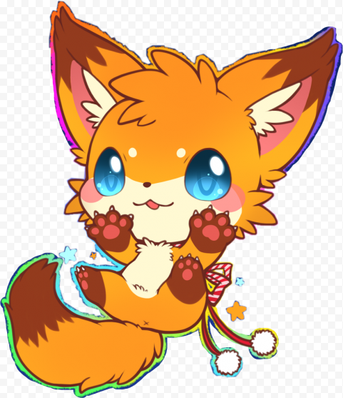 Cute Cartoon Fox Transparent Animal
