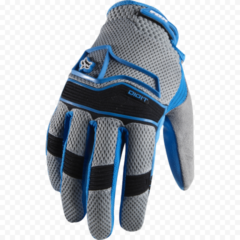 Cycling Gloves Glove Gray & Blue Bike