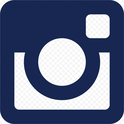 Dark Blue Instagram Logo