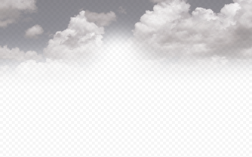 Dark Gray Sky Clouds Background PNG
