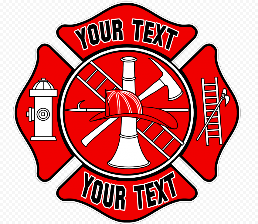 Department Firefighter Fire Station Logo PNG