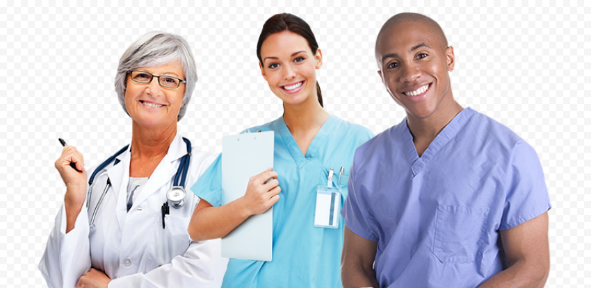 Doctors Physicians Nurses Therapy Medical Staff