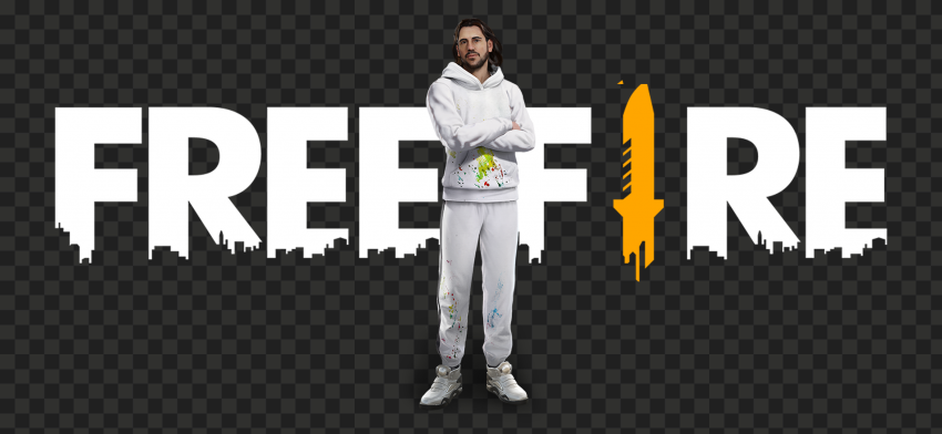 Download Dimitri Character With Free Fire Logo PNG