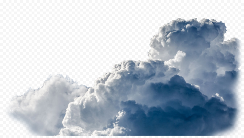 Download Real Teal Sky Clouds PNG