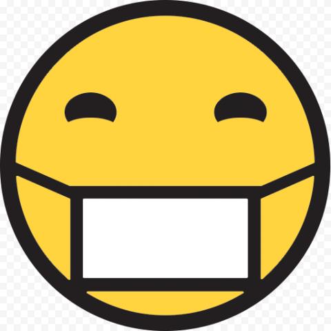 Emoji Whatsapp Sick Wear Surgical Mask