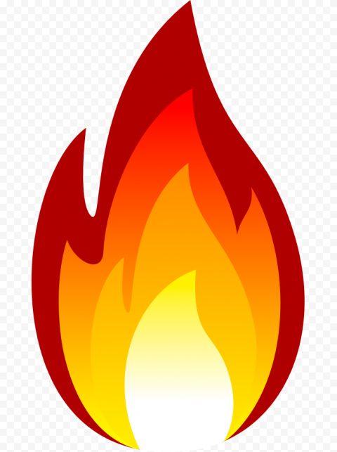 Flame Fire cartoon clipart