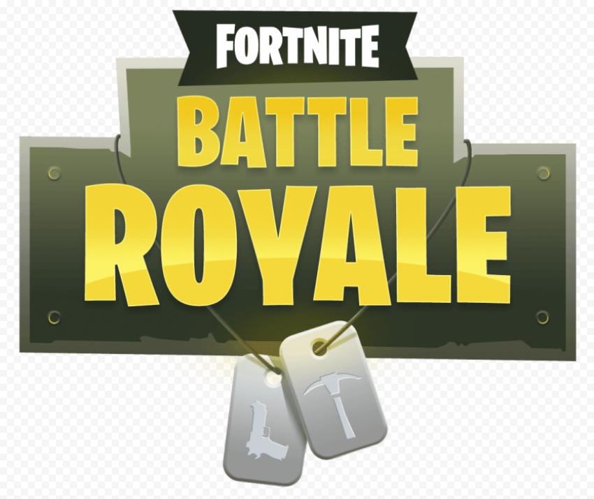 Fortnite Battle Royale logo badge png