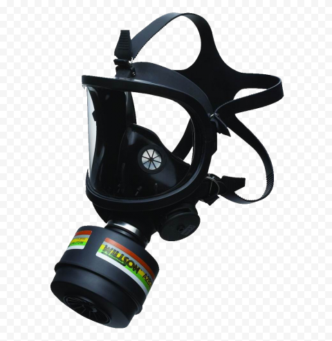 Gas Mask Protection Safety PPE Black Full Face