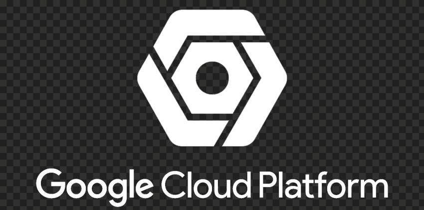 Google Cloud Platform White Logo HD PNG